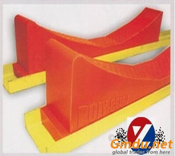 polyurethane coil storage floor pad/saddle