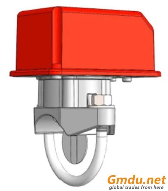 Water flow indicator with retard