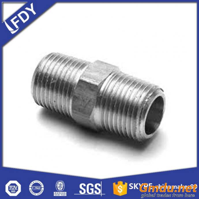 Malleable Iron Fitting - HEX NIPPLE