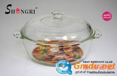 Glass Casserole With Glass Lid