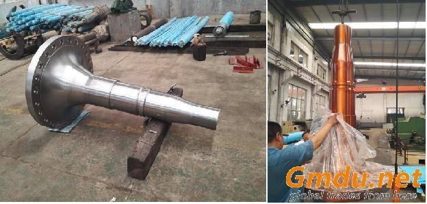 shafts for the wind turbine