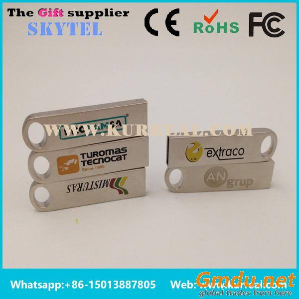 Promotional Customized Mini Metal Focus USB Flash Drives 16GB Gifts Giveaways