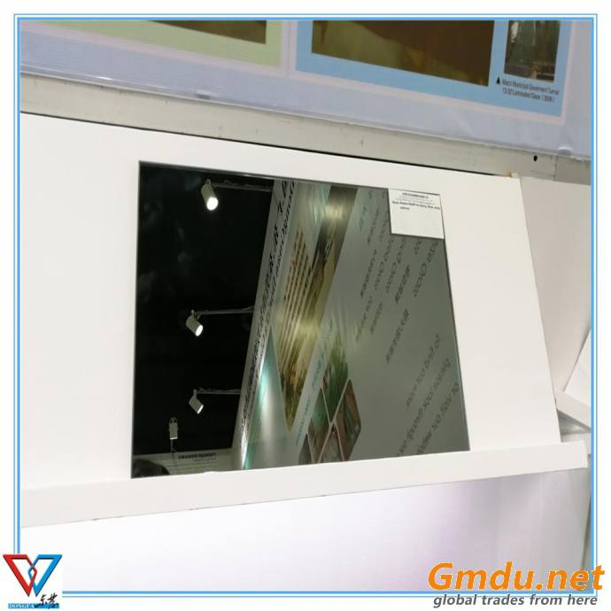 Euro Grey and One way Mirror Laminated toughened decorative glass