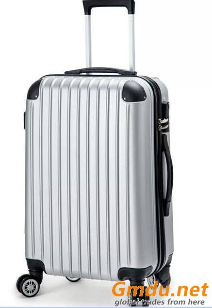 Travel luggage suitcase with 4 Spinner 360 Degree Wheels beautiful ABS