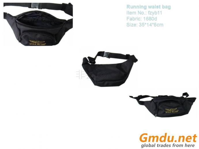 Fashion Promotional Outdoor Running Waist bags fanny bag