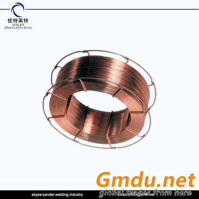 CO2 gas shielded low carbon steel welding wire ER70S-6