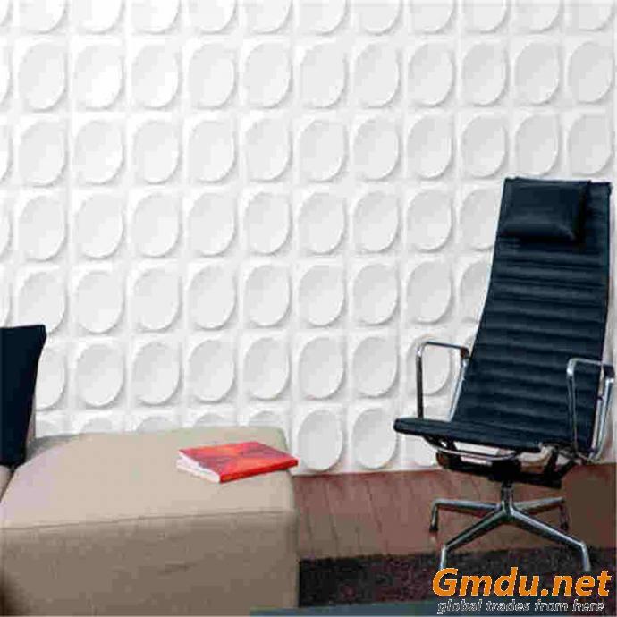 3D PVC Plastic Wall board