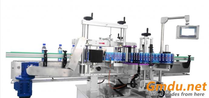 Automatic bottle labeler the labeling machine for round bottle or flat bottle side label machine applicator