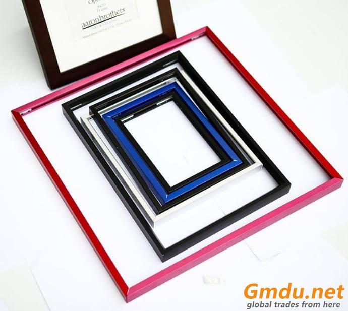 Colourful Aluminum photo frame