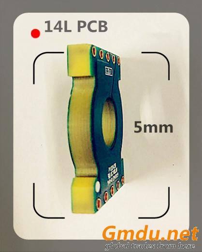 Magnetic Flow Meter Custom PCB Prototype-Grande Circuit Board