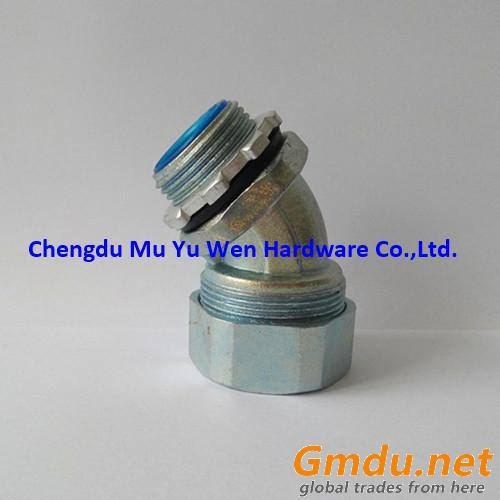 45 degree liquid tight flexible metal conduit fittings