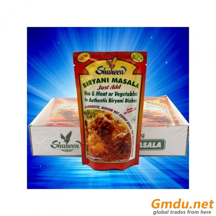 Muslim Ready To Cook Masala Sauce New Products