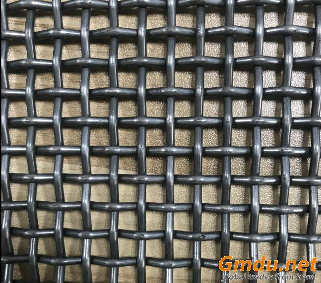 Stainless Steel Double Crimped Screen