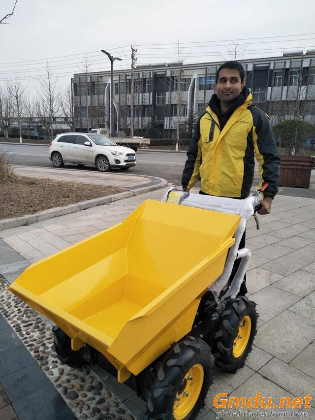 wheel loader 300kg gardening machine
