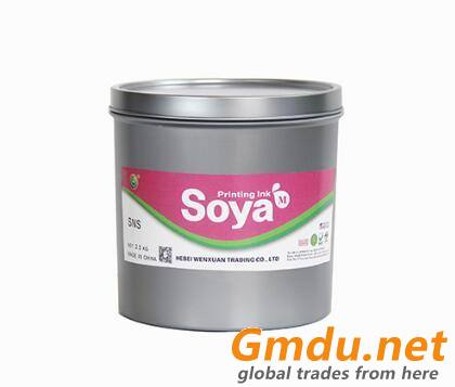 Bright Soy Oil Based Printing Inks