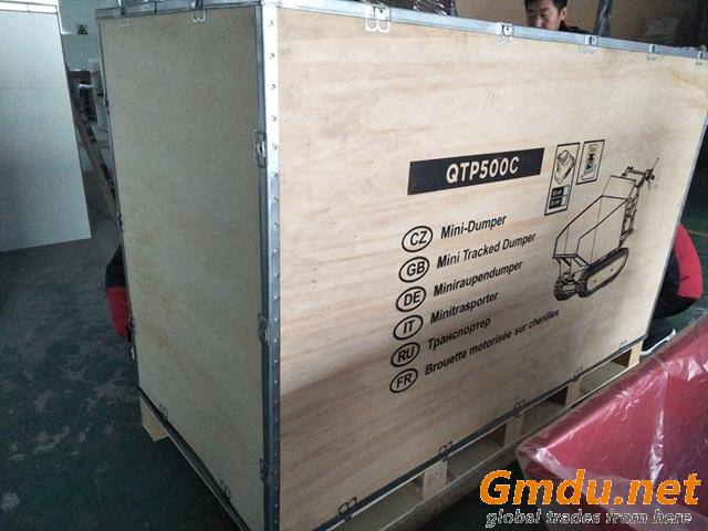 hydraulic type dumper QTP500C crawler transporter