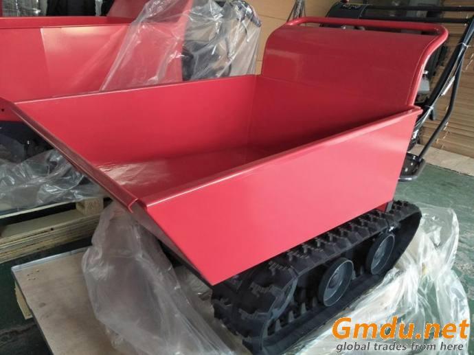 farming manual tipping type dumper QTP300C crawler transporter