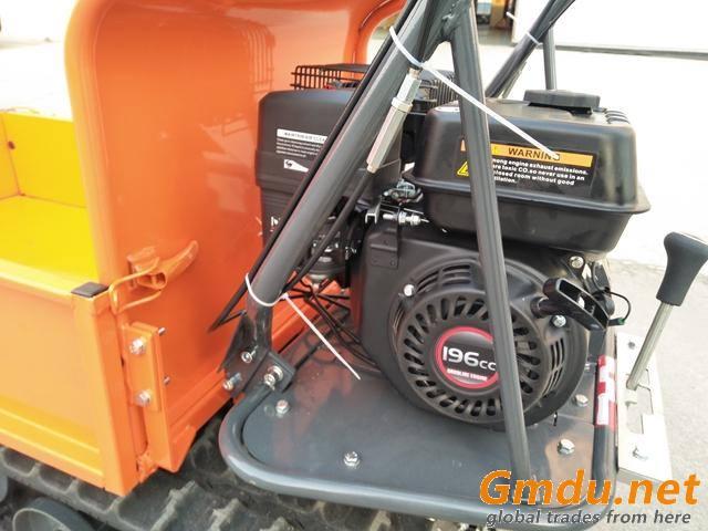 farming manual tipping type dumper QTP300B crawler transport