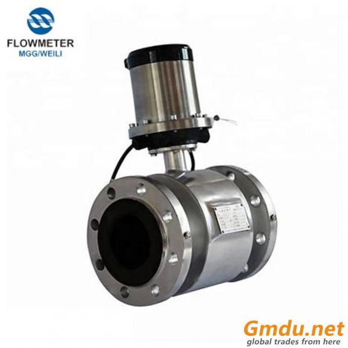 Analog Emg Ss316 Electrode Flowmeter Water Flow Meter Battery Type