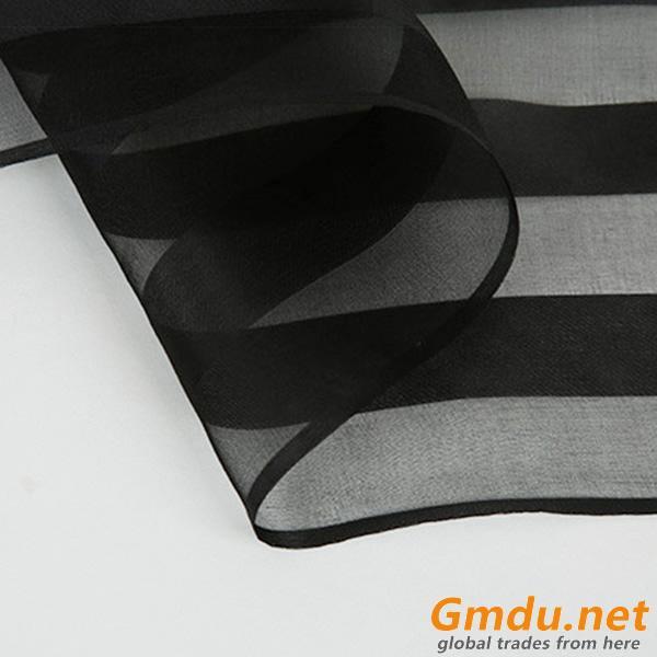 organza silk,organza fabric 100% pure silk