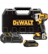 DEWALT 20 Volt Max Li-Ion Cordless Impact Driver - 1/4in. Chuck, Model# DCF885C2