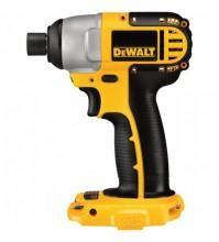 DEWALT Compact Cordless Impact Driver - Tool Only, 18V, 1/4in., Model# DC825B