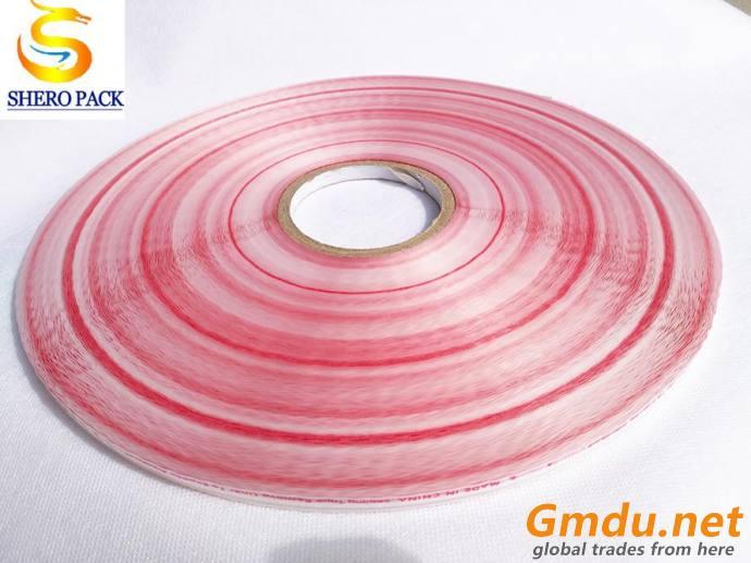Resealable plastic self adhesive tape