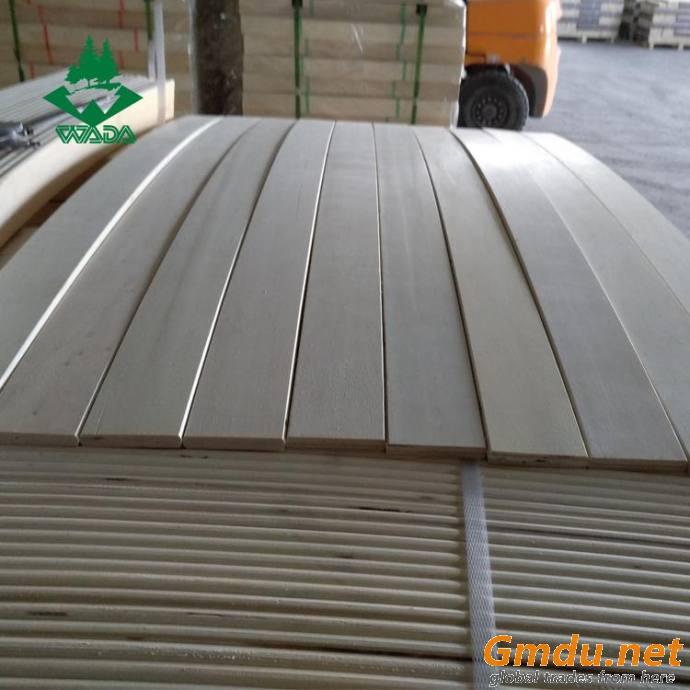 Poplar LVL wooden bent bed slats