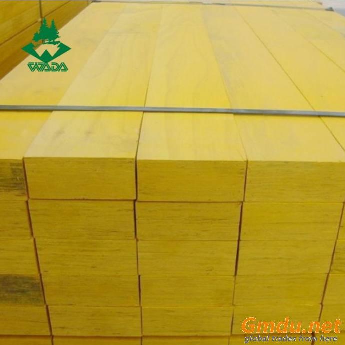 Pine laminated wood beams for construction