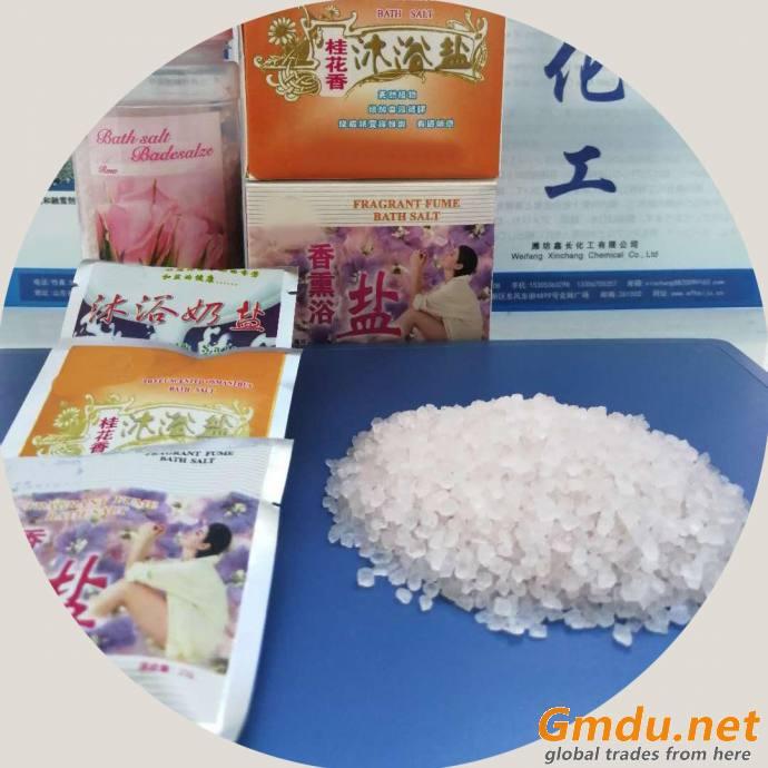 Granular Bath Salt for Spa Relaxing