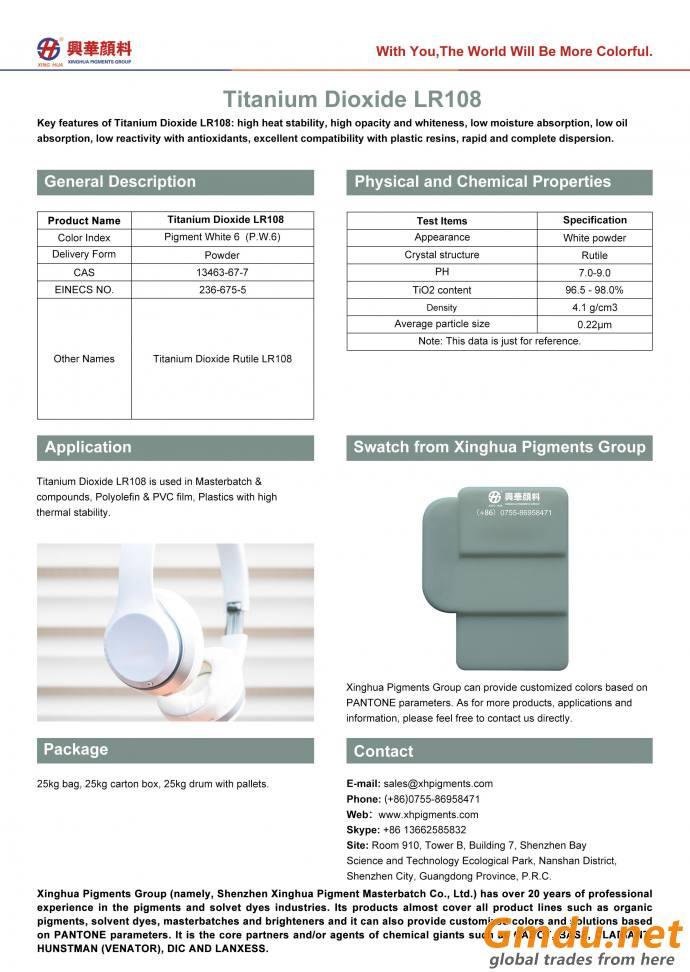 Titanium Dioxide LR108
