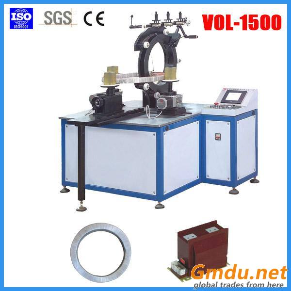 VOL-1500 winding machine (APG Epoxy resin injection moulding machine)