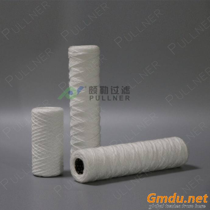 Iron Removal String Wound Filters for Condensate Water