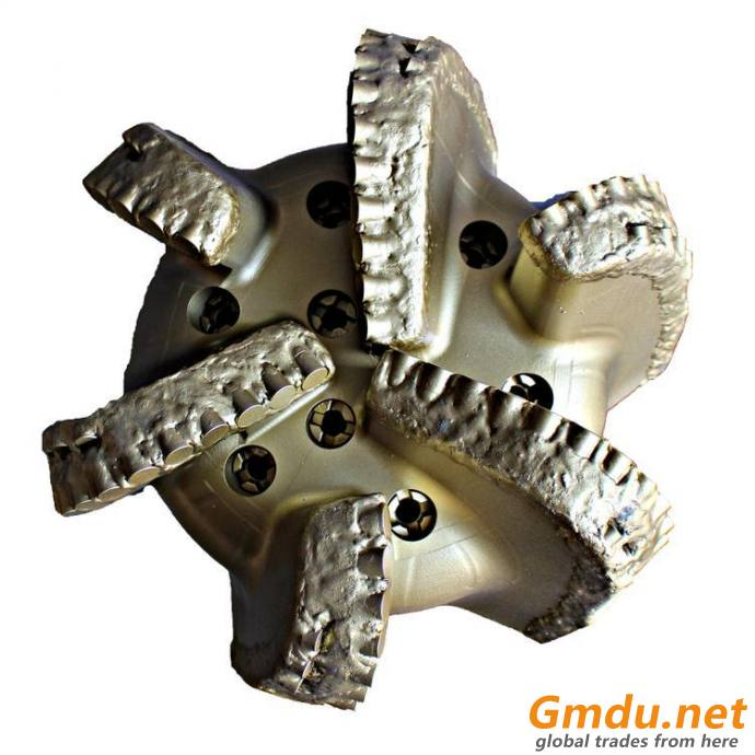 """171/2"""" steel body 6 blades PDC bit for water well drilling"""
