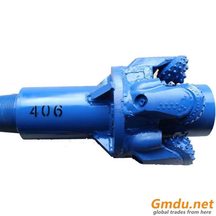 406mm rock hole opener with tricone cutters for vertical drilling