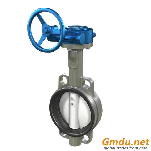 center line butterfly valve
