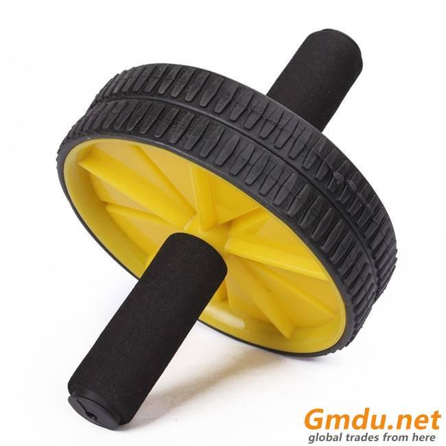 Body Building Training Plastic AB Wheel
