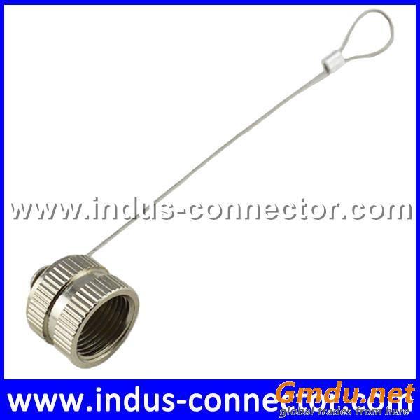 Male female dust cap waterproof customized wire length