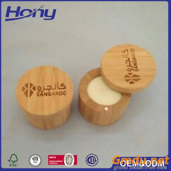 Empty Natural Custom Size Bamboo Jewelry Box for Packing Single Ring
