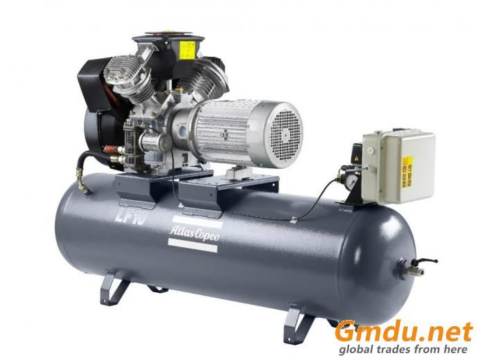 ATLAS-COPCO Oil-lubricated screw compressor & spare parts