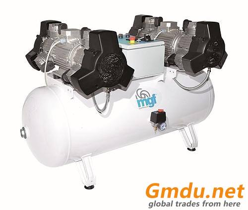 MGF Oil-free compressors for centralized system