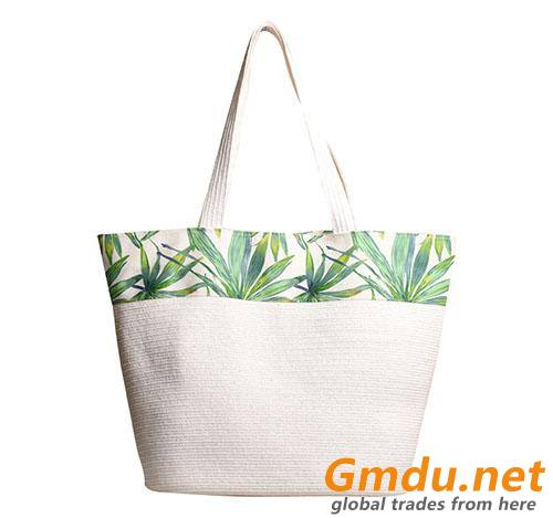 Custom Printed Paper Tote Bag
