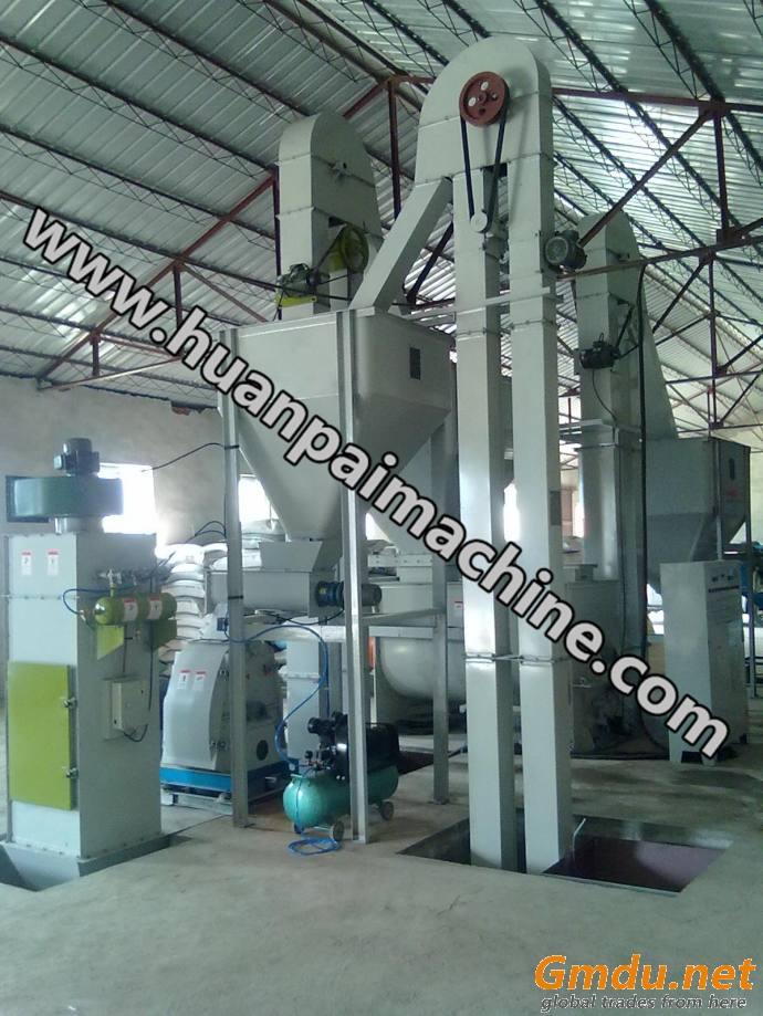 small complete production lines poultry feed mill equipment