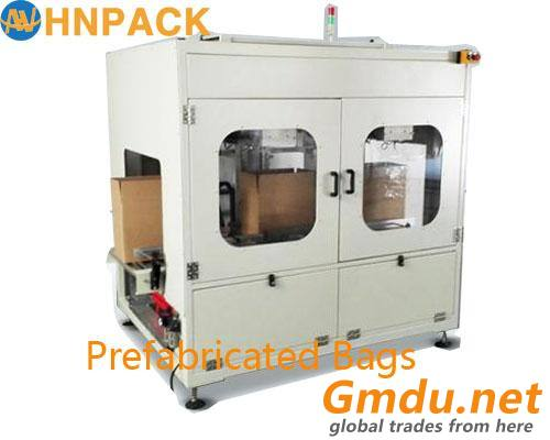 Plastic Bag Insert Machine forpalm oil or fats poly bag inserter