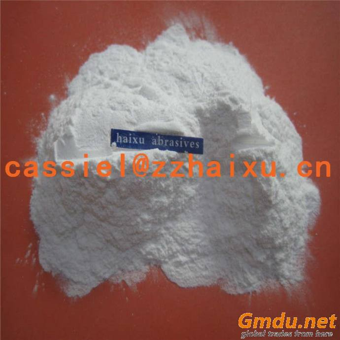 White fused alumina for electronic ceramic