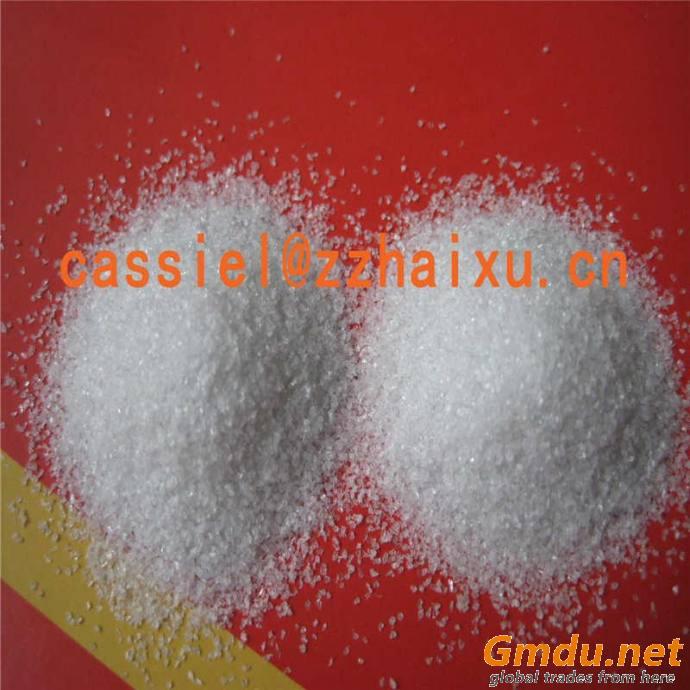 blasting media white fused alumina grit granular grain for sale
