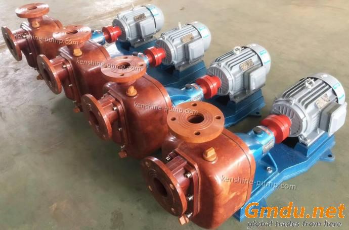 ZS fiberglass reinforced plastic self priming centrifugal pump