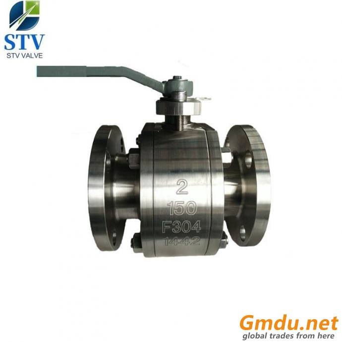 150LB Forged Steel Ball Valve,F304 Body,Reducer Bore,Flange End
