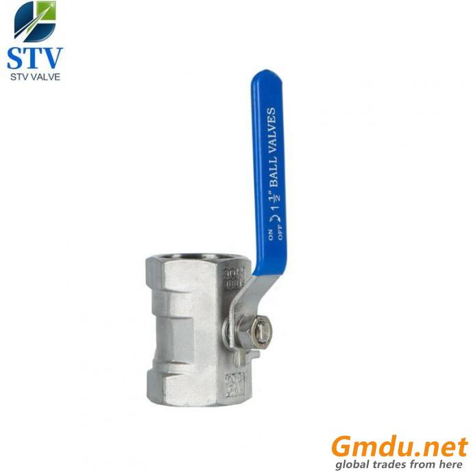 1PC Ball Valve,Reducer Port,CF8 Body,Lever Operated