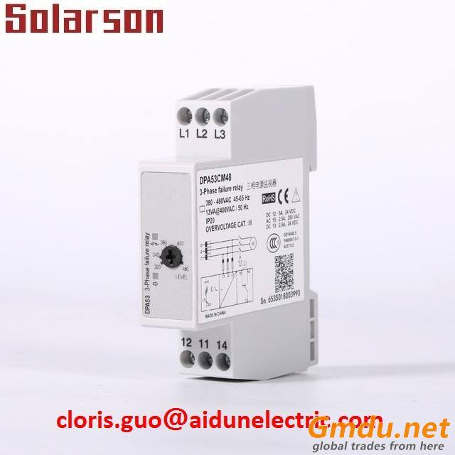 DPA53AM48N 3 Phase Monitoring Relays for Phase Sequence and Phase Loss